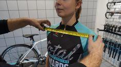 Women's fit to unisex bike.