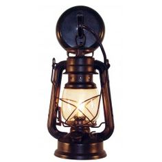 White River Half Lantern Wall Sconce With Down Lamp