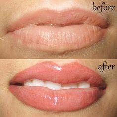permanent lip color and liner by Sheila Bella Permanent Makeup