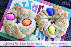 Mommy's Kitchen - Home Cooking & Family Friendly Recipes: Italian Easter Bread {Made with Truvia Baking Blend}