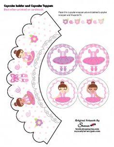 Cupcake Kit Favor Box