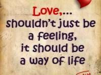 Quotes and inspiration about Love   QUOTATION – Image :    As the quote says – Description  Quotes about Life 'Love just Way of Life romantic love quotes for her    - #LoveQuotes