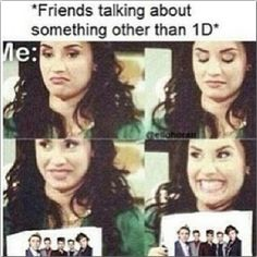 Yasssss! That is my life! It sucks cuz I'm the only one out of all of my friends that like one direction. But what evs!