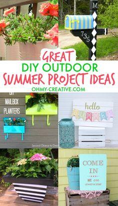 Great Diy Outdoor Summer Project Ideas