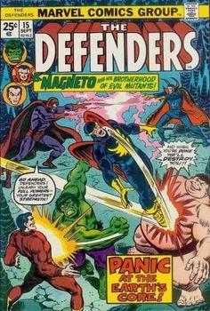 The Defenders VF Marvel 1974 Hulk Dr Strange Nighthawk Magneto Blob Marvel Comics Superheroes, Marvel Comic Books, Comic Books Art, Comic Art, Book Art, Marvel Vs, Dc Comics, Hulk Comic, Marvel Heroes