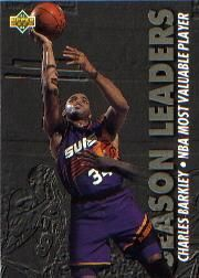 1993-1994 93-94 Upper Deck #174 Charles Barkley Season Leaders ---> shipping is $0.01 !!!