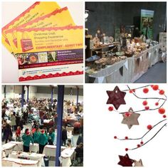 WIN a ticket for 2 for this years popular Christmas Craft Shopping Experience, an event with over 100 stalls full of handmade items, not to be missed!