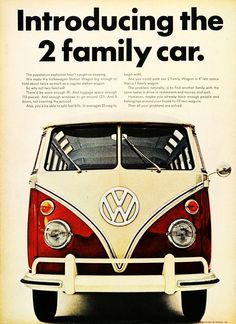1966 Volkswagon Station Wagon advertisement.