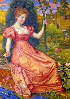 "Joseph Edward Southall, ""Cinderella"""