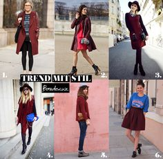 Bordeaux mit Stil Trends, Must Haves, Fashion, Fashion Styles, Good Red Wine, Moda, Fashion Illustrations, Beauty Trends