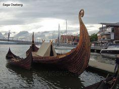 """Saga Oseberg kopi av Osebergskipet - The Oseberg Ship replica """"Saga Oseberg"""" - Viking ships and Norse wooden boats by Jørn Olav Løset, Norway"""