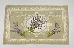 Tappeto Passatoia Cucina Bagno Lavanderia Camera Multiuso Profumo di Lavanda - Provenzale - Cm 55x180 Kitchen Carpet, Vintage World Maps, Home Decor, Laundry, Homemade Home Decor, Kitchen Rug, Decoration Home, Interior Decorating