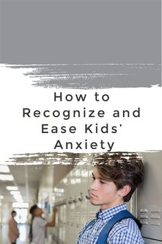 Kids' anxiety continues to increase due to school pressures, news reports, and other issues. So parents must recognize the symptoms and be ready to help! Parenting Quotes, Kids And Parenting, School S, Back To School, Anxiety In Children, Student Success, Muscle Tension, Psychology Today, Social Media Influencer