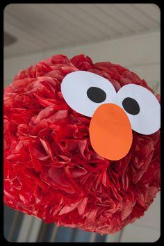Elmo Pom pom!!! This is awesome!