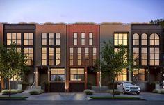 townhouse neighborhood rendering - Google Search