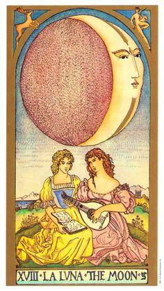 The Moon - Renaissance Tarot (Brian Williams)