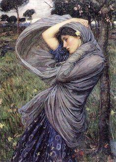 John William Waterhouse Boreas 1903