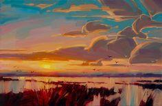 Ignat Ignatov inspired by my trip to South Carolina. 24x36, Oil