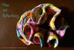 Hyperbolic Crochet Tutorial: The Expanding Spiral All of the photos below are of the same hyperbolic crochet piece. What I love about this particular form is that it can be twisted, folded, and s… Crochet Ruffle, Crochet Tunic, Freeform Crochet, Crochet Art, Crochet Home, Crochet Motif, Crochet Flowers, Crochet Edgings, Crochet Dresses