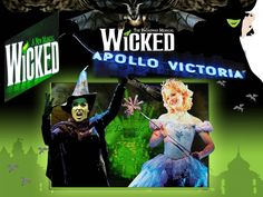 London Show Wicked Extended Until 30th April 2016. http://apollovictoria.london-theatretickets.com/