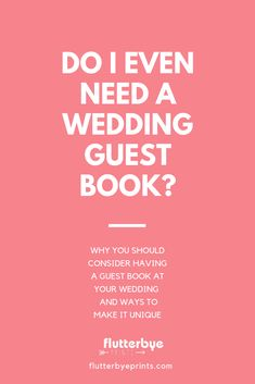 Why do you need a wedding guest book?  Wedding guestbooks have a long tradition in wedding ceremonies that you might want to include in your wedding. But that doesn't mean you have to have a boring guest book.  These days you can find many unique guest book alternatives to fit your wedding and style. Read about the history of wedding guest books and get inspiration for a guestbook of your own!  #weddingguestbooks #guestbookinpiration #guestbookideas #wedding #guestbookideas