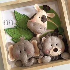 Easy DIY Felt Crafts, Felt Crafts Patterns and Heartily Felt Crafts Leyland. Baby Crafts, Felt Crafts, Diy And Crafts, Crafts For Kids, Simple Crafts, Wood Crafts, Felt Christmas Ornaments, Christmas Crafts, Sewing Crafts