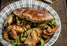 Singapore-style wokked crab