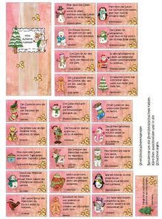 Wie versprochen hier noch ein weiteres Design des Streichholzschachtelkalenders:DownloadDie Illustrationen stammen von Kate Hadfield.