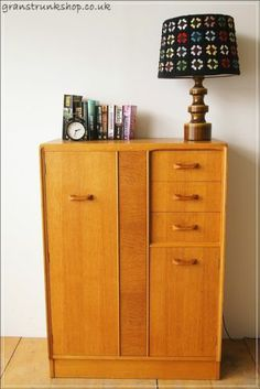 Vintage mid century danish E Gomme G Plan sideboard wardrobe chest of drawers | eBay