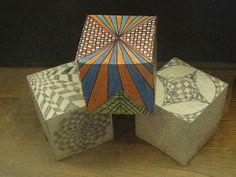 Art Confidence: Optical Illusion Cubes