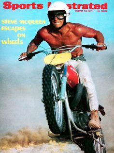 Sports Illustrated, 1971. Steve McQueen on the cover. Husqvarna.