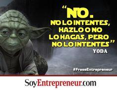 Este famoso y sabio personaje de Star Wars también da consejos para los emprendedores.