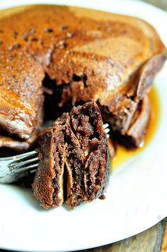 Chocolate Pancakes | ©addapinch.com -- 1 cup flour, self-rising 2 tablespoons sugar ¼ teaspoon salt 2 tablespoons unsweetened cocoa powder 1 cup buttermilk 1 egg 2 tablespoons butter, melted 1 teaspoon vanilla