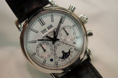 Patek Philippe 5204 Split-Seconds Chronographs With Perpetual Calendar $317,500