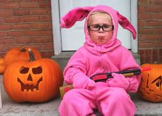 Funny pictures about Ralphie. Oh, and cool pics about Ralphie. Also, Ralphie photos. Best Costume Ever, Best Halloween Costumes Ever, Halloween Items, Halloween Town, Happy Halloween, Evie Halloween, Christmas Costumes, Funny Halloween, Clever Costumes