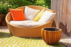 Green Decore Outdoor Teppich NIRVANA YELLOW