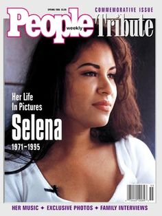 People weekly Commemorative Issue Tribute to Selena Quintanilla Perez Her life in pictures SELENA 1971-1995