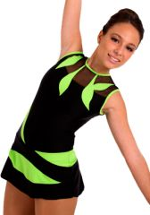 Maillot de Gimnasia R�tmica MR7062 Skating Dresses, Acro, Dance Outfits, Dance Costumes, Leotards, Gymnastics, Minis, Skate, Facts