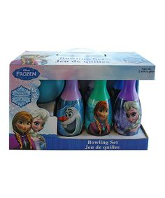Another great find on #zulily! Frozen Bowling Set by Frozen #zulilyfinds