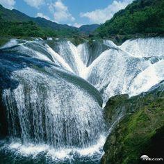 Cachoeira das Pérolas (Vale doJiuzhaigou- China)