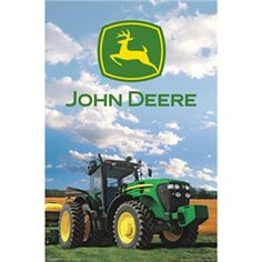 Round out your collection or decorate your workshop with the Trends International John Deere Poster . This classic John Deere poster is printed in high. Farm Life Quotes, John Deere Bedroom, John Deere Kids, Tractor Pictures, Paper Wall Art, John Deere Tractors, Colorful Wall Art, Cool Posters, Monster Trucks