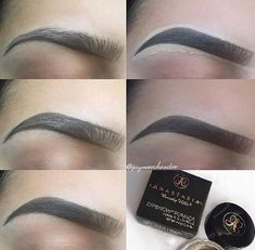 A detailed tutorial on how to do bold brows! A detailed tutorial on how to do bold brows! Best Eyebrow Makeup, Makeup 101, Best Eyebrow Products, Makeup Hacks, Makeup Goals, Skin Makeup, Eyeshadow Makeup, Perfect Eyebrows Tutorial, Natural Eyebrow Tutorial