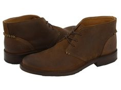FRYE FRYE - OLIVER CHUKKA (FATIGUE SUEDE) MEN'S LACE UP CASUAL SHOES. #frye #shoes #