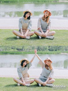 Korean Fashion Similar Look Pin by Aki Warinda Bff Pictures, Best Friend Pictures, Friend Photos, Korean Photography, Photography Poses, Ulzzang, Bff Poses, Korean Friends, Best Friend Outfits