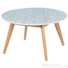 Lova marmor soffbord Ø: 80cm, Soffbord/sidobord/REA/Soffbord / sidobord