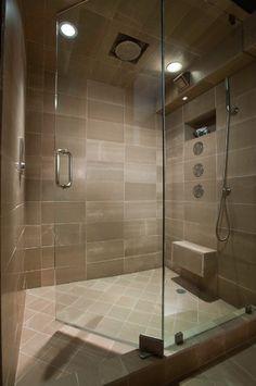cool rain shower head and main shower head. The main shower head ...