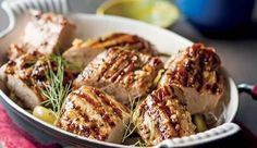 This recipe is adapted from The Fast Diet Recipe Book by Mimi Spencer with Dr Sarah Schenker. Simply Recipes, My Recipes, Baking Recipes, Diet Recipes, Simply Food, Fast Food Diet, Pork Fillet, Baked Pork, Meat Chickens