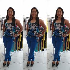 Blog da Sylvana Vieira: Look da Syll: Azul bic