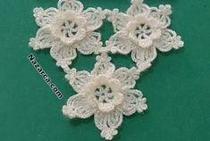 ÇOK ÇITIR ÇİÇEK MOTİFLİ ŞAL VE ETOL MODELİ | Nazarca.com Easy Crochet Stitches, Crochet Doilies, Crochet Flower Patterns, Crochet Flowers, Poncho Crochet, Pedi, Beaded Jewelry, Diy And Crafts, Knitting
