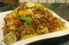 Many times you tried korma and biryani in different verities and different combination, but now try this Chicken Korma Biryani unique and amazing taste...